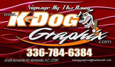 Kdog Graphics North Carolina