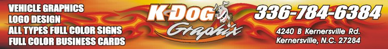 KDog Graphix- Signs North Carolina
